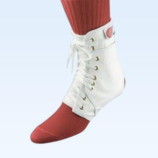 Swede-O Ankle Lok Medium w/ Stabilizers White