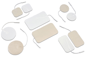 "Dura-Stick electrodes, 2.25"" x 2.5"" disposable, 40/case"