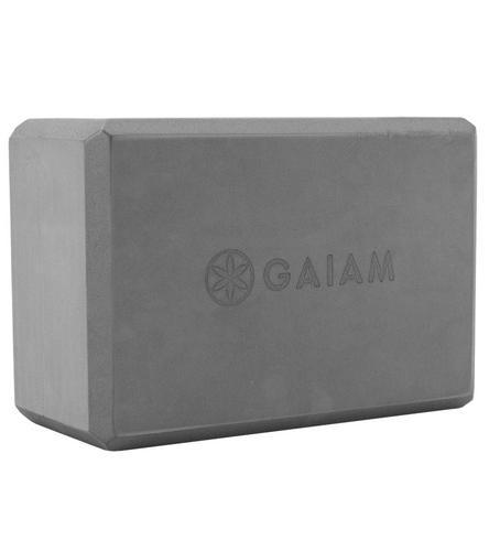 Gaiam Yoga Essentials Block, Gray