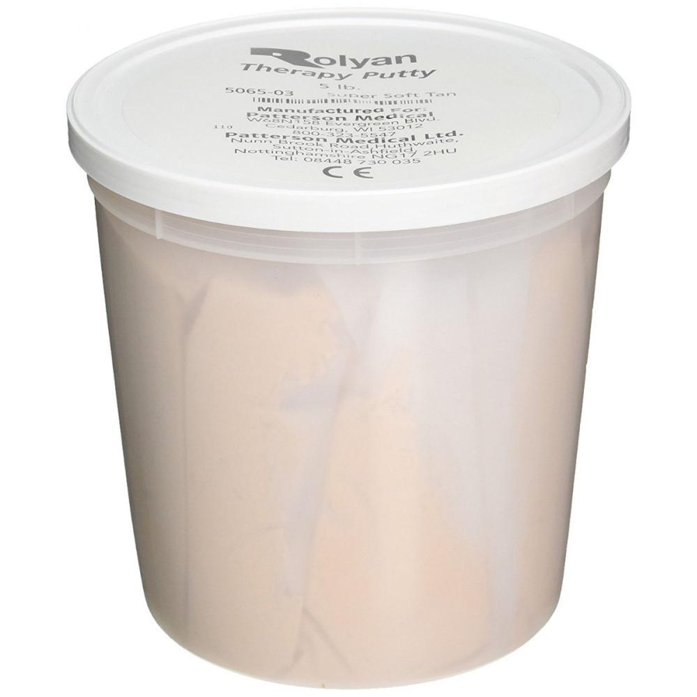Sammons Preston Therapy Putty - 5 lb Tan Extra Soft