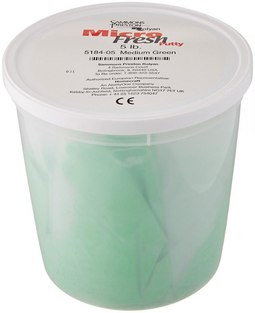 Micro-Fresh Putty - 5 lb. - Medium Green