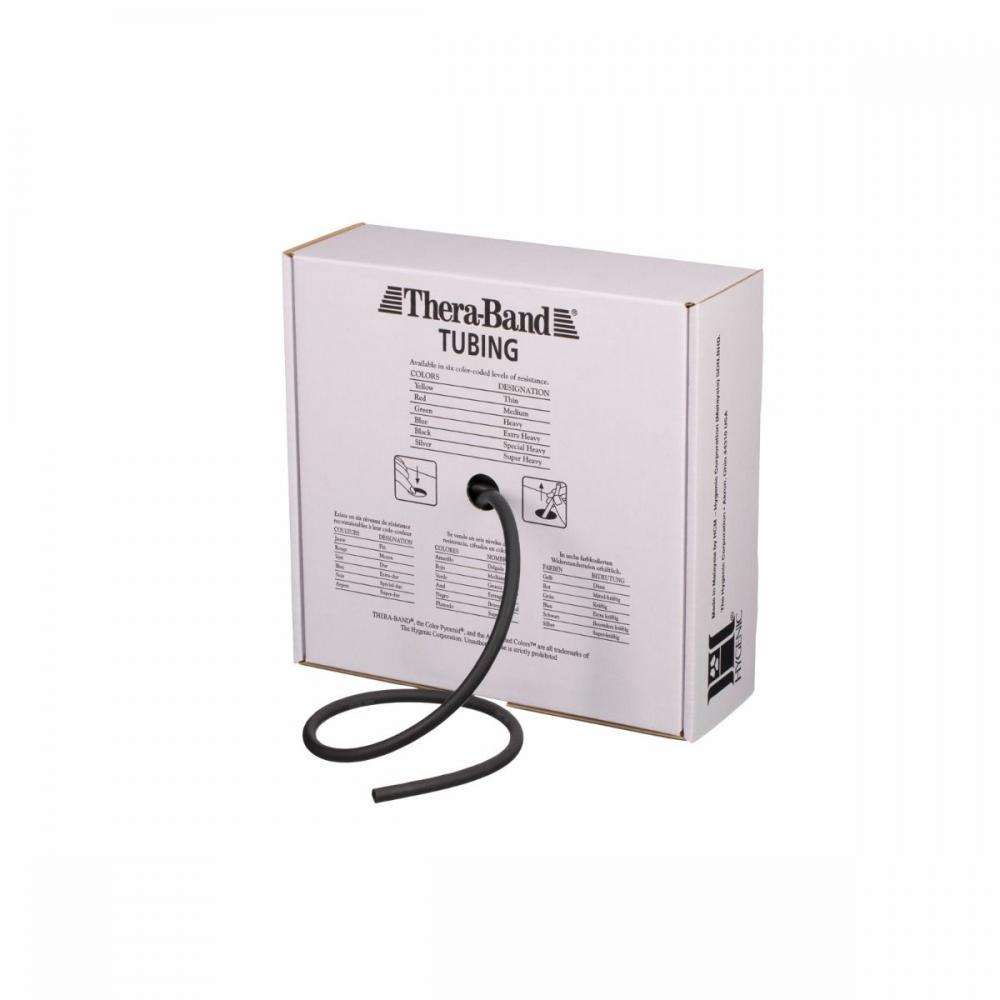 TheraBand Professional Resistance Tubing - Heavy - Black - 100ft