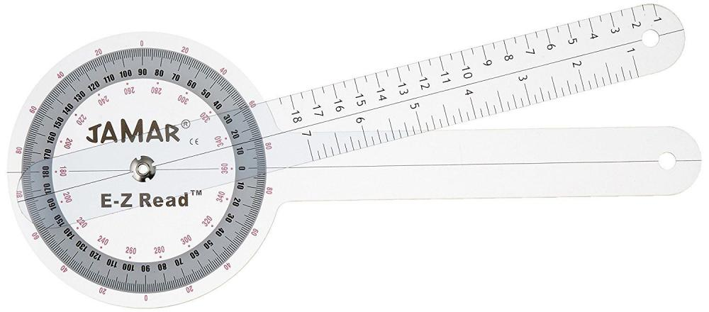 Jamar EZ Read - 6 in. Goniometer