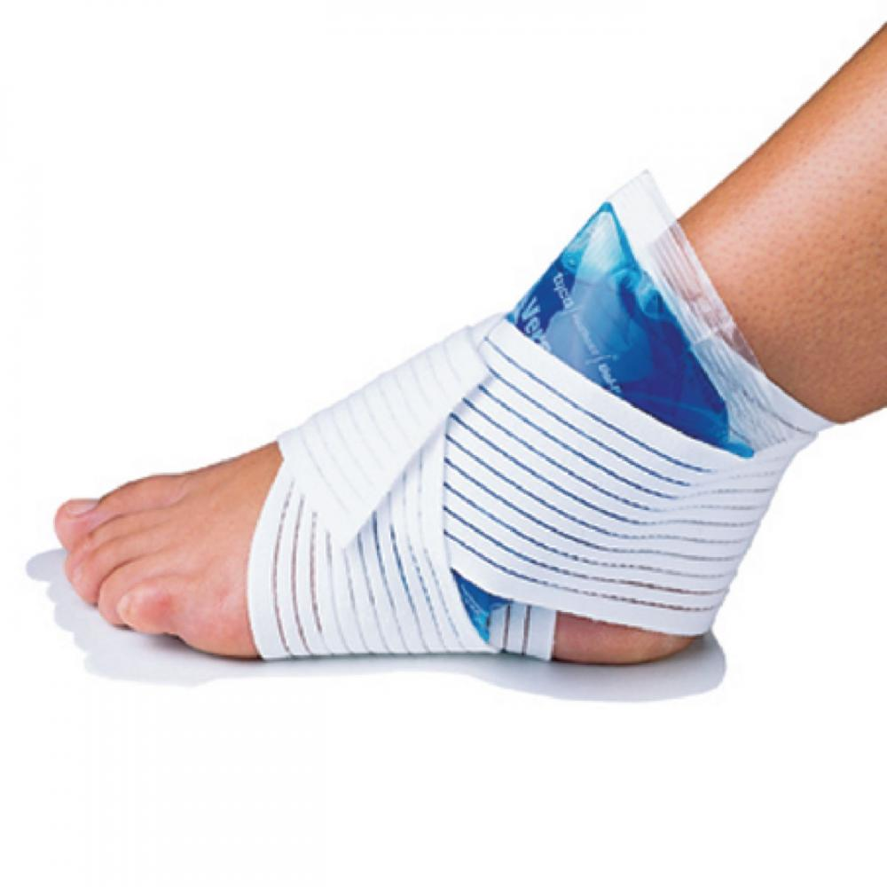 "Uni-Patch Compression Wrap: Versa-Lastic (3"" X 48"" w/ velcro)"