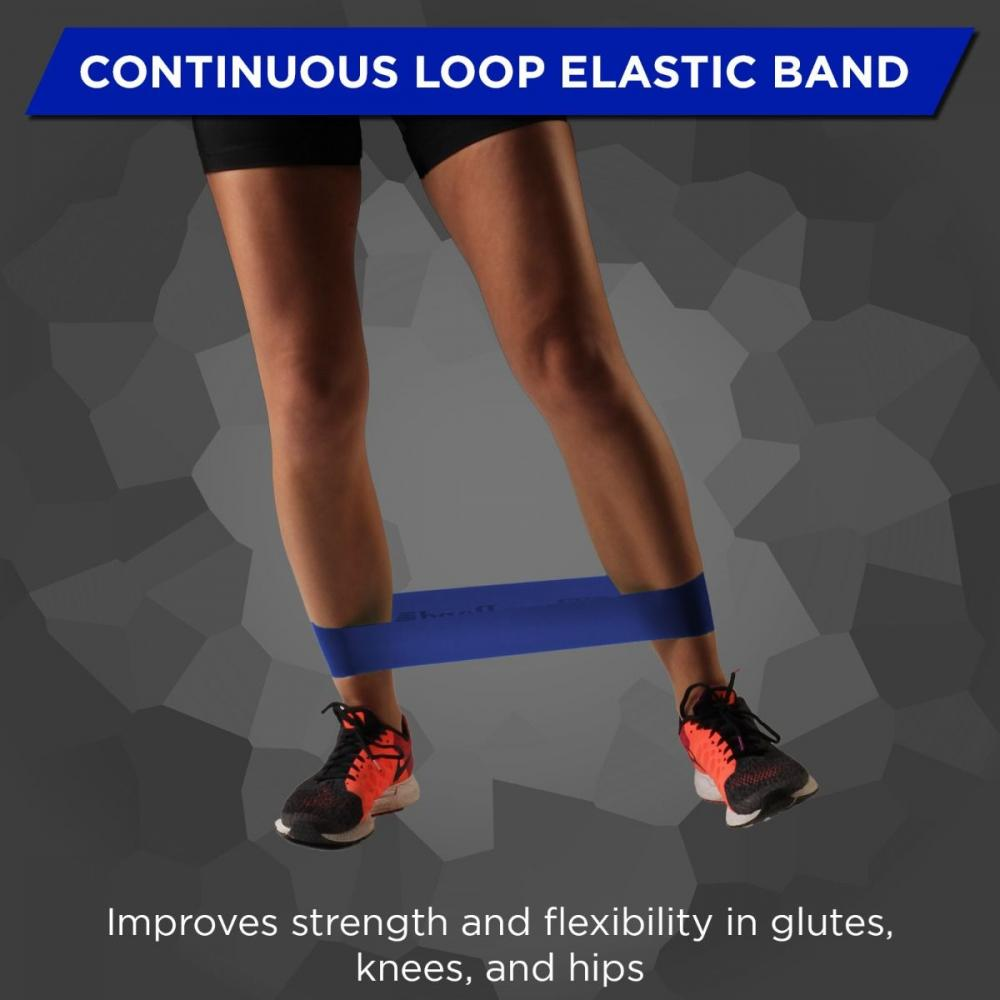TheraBand 12 in. Band Loop - Blue