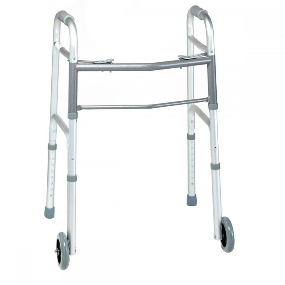 Days Two Button Walker - Adult with 5 in. Wheels