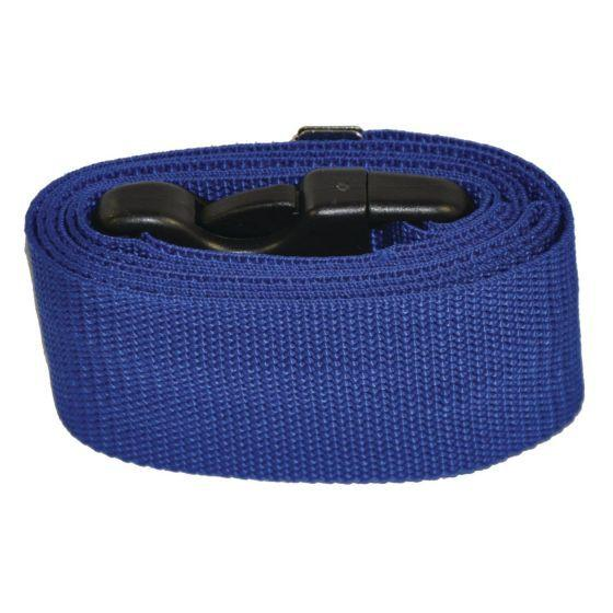 "Gait Belt (60"" Nylon-Blue)(w/ quick release)"