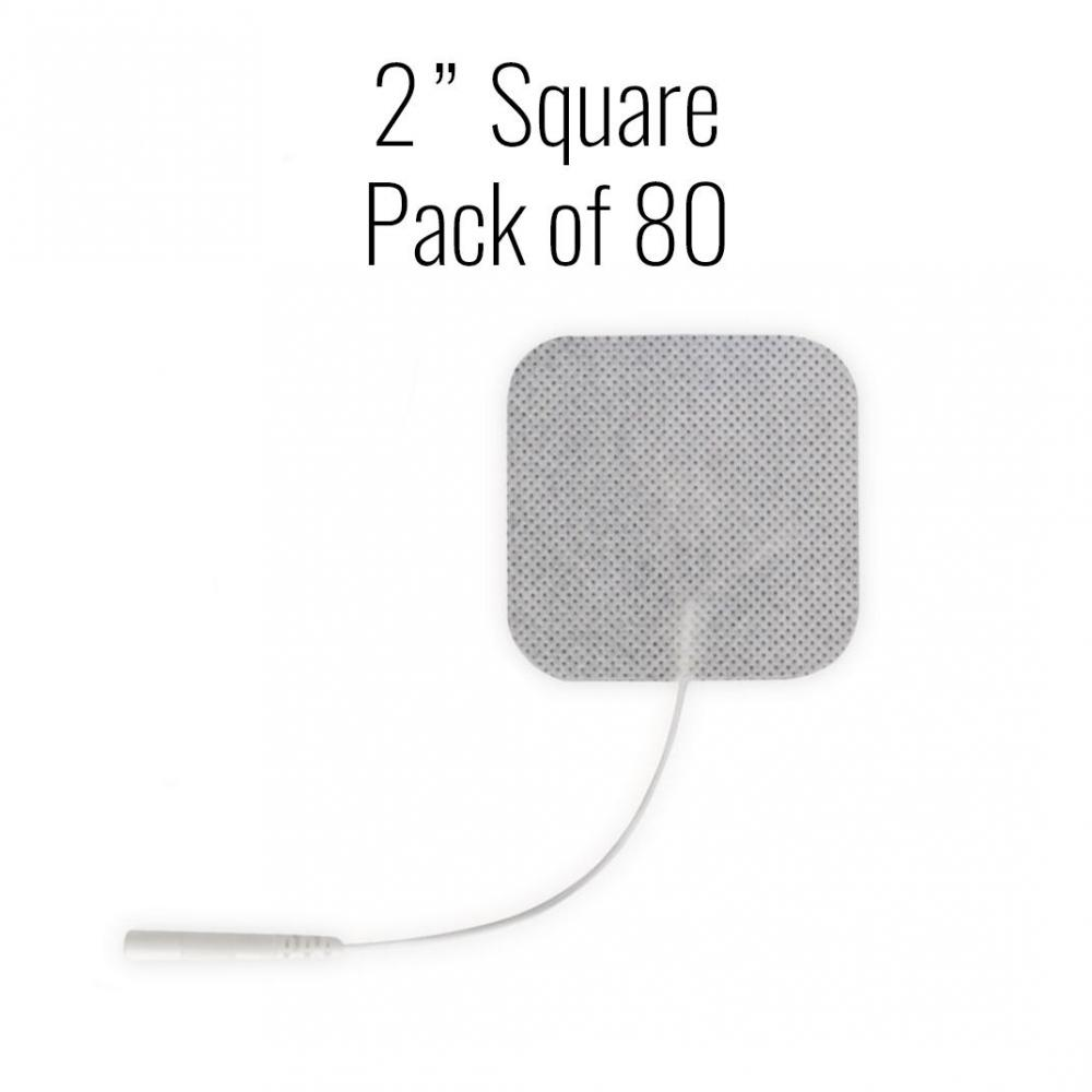 Metron Cloth Electrodes - 2 in. Square - Case of 80