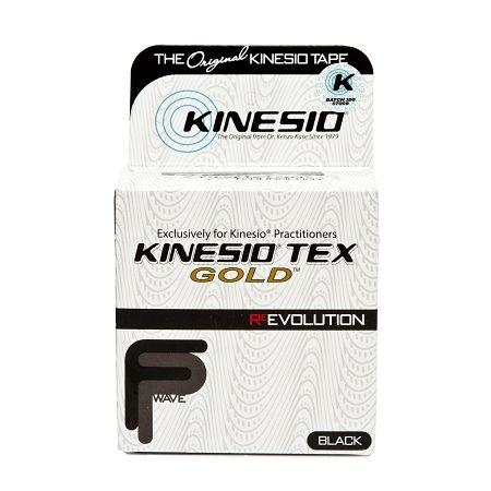 Kinesio Tex Gold FP - 2 in. - Black - Pack of 6