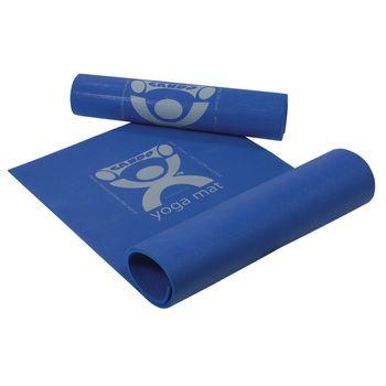 CanDo Yoga Mat, .25 in. Thick - Blue