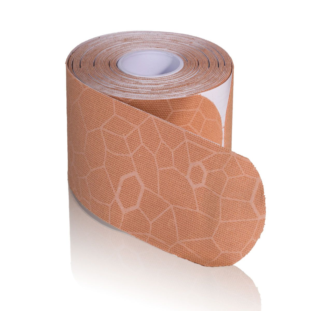 TheraBand Kinesiology Tape, 20 pack, 2 in x 10 in, Beige/Beige