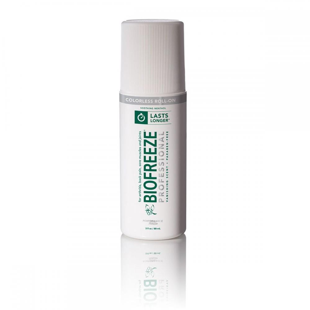 Biofreeze Professional - 3 oz. Roll-On - Colorless