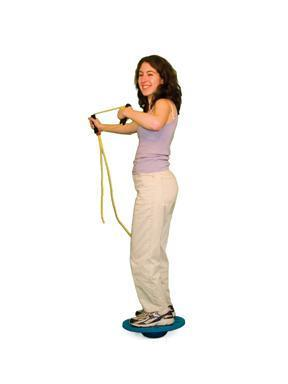 Cando Board-on-Stone Balance Trainer - 13 inch Stone and 20 inch