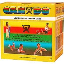 Cando Low Powder Exercise Band - 50 Yard - Gold - XX-heavy