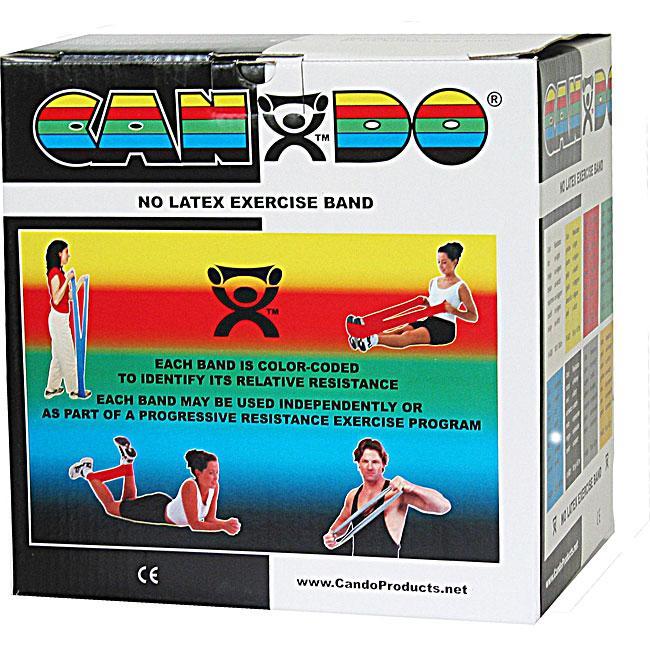 Cando No Latex Exercise Band - 50 Yard - Black - X-heavy