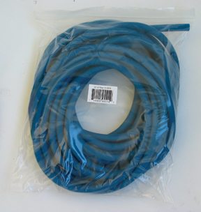 Cando Low Powder Exercise Tubing - 25 feet - Blue - heavy