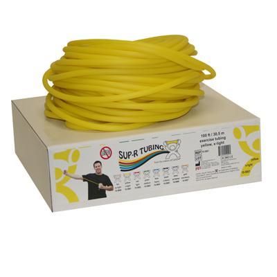 Sup-R Tubing latex-free tubing, YELLOW, 100 feet - X-LIGHT
