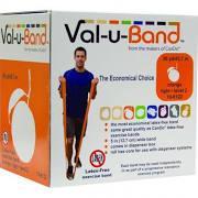 Val-u-Band Latex Free Exercise Band, 50 yard Orange