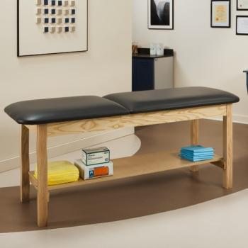 "ETA Classic Series Treatment Table with Shelf- 24"" wide"