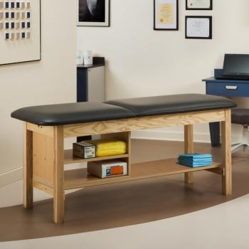 "ETA Classic Series Treatment Table with Shelving- 24"" wide"