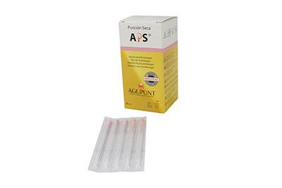 APS Dry Needling Needle, 0.30 x 50mm, Pink Tip, 100/Box
