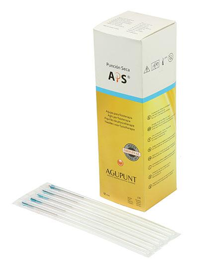 APS Dry Needling Needle, 0.30 x 100mm, Turquoise Tip, 100/ Box