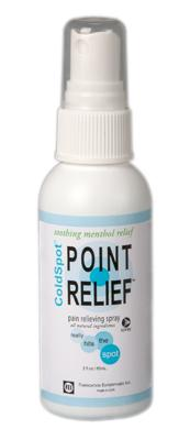 Point Relief ColdSpot spray, 2 ounce