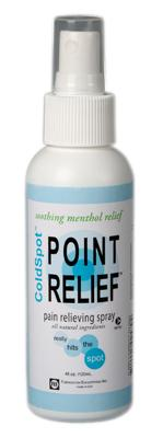 Point Relief ColdSpot spray, 4 ounce