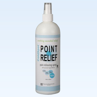 Point Relief ColdSpot spray, 16 ounce