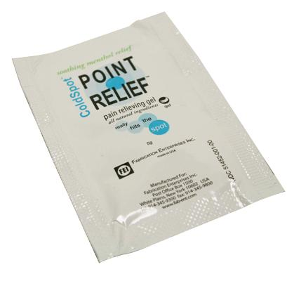 Point Relief ColdSpot gel packet, 5 gram