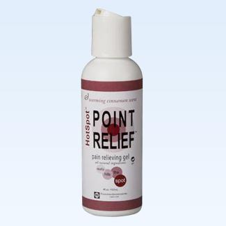 Point Relief HotSpot gel, 4 ounce