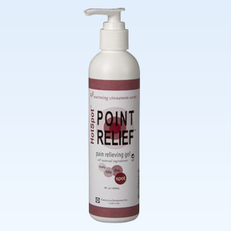 Point Relief HotSpot gel, 8 ounce
