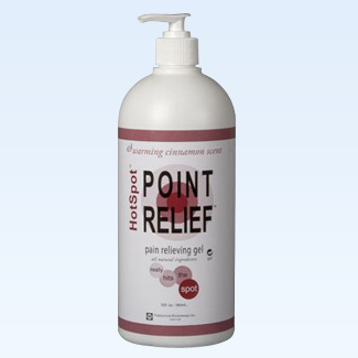 Point Relief HotSpot gel, 32 ounce