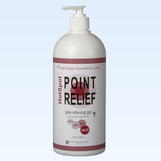 Point Relief HotSpot gel, 32 ounce