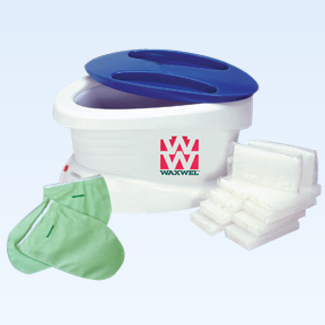 WaxWel Paraffin Accessory - terry foot bootie for paraffin treat
