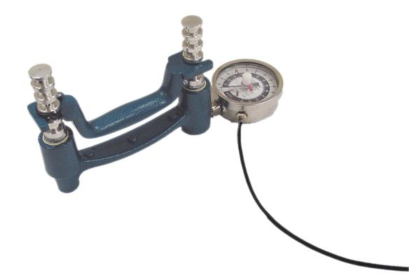 Baseline Hand Dynamometer - 300 lb Dial Gauge and Analog Output Signal