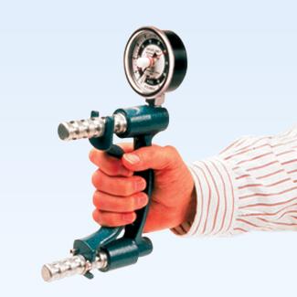 Baseline HD hydraulic hand dynamometer, 200lb.