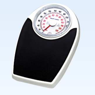 "Large Dial Scale 330lb/150kg 6.5"" dial on 17x11"" platform"