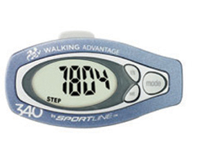 Step and Distance pedometer