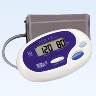 Auto inflate blood pressure and pulse monitor
