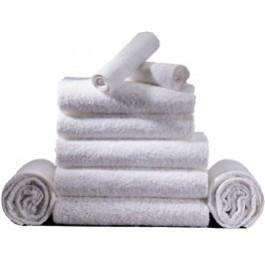 "Harbor Bath Towel 16"" x 27"" (3.0lb) - White - dozen"