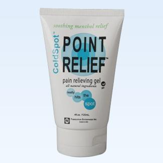 Point Relief ColdSpot gel tube, 4 ounce