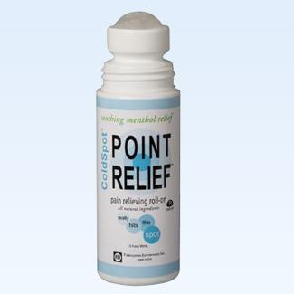 Point Relief ColdSpot roll-on, 3 ounce