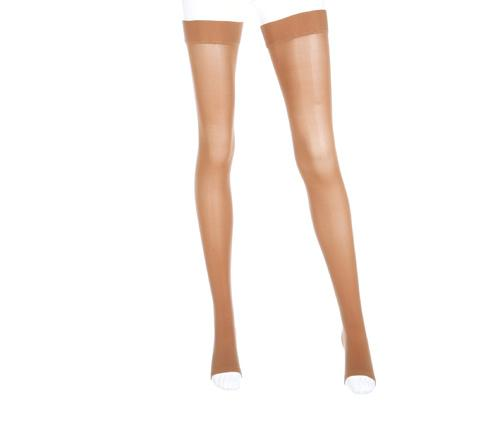 Mediven Plus Beige 20-30 mmHg Thigh w/ Beaded Silicone Top Band Closed