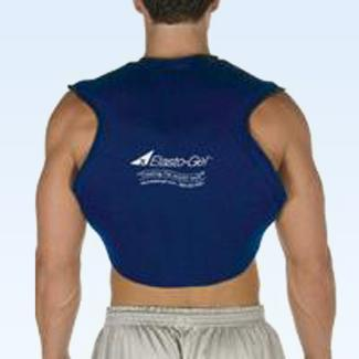Elasto Gel Hot/Cold Neck/Back combo wrap, flexible, mircrowaveab