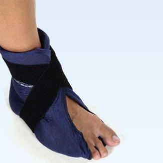 Elasto Gel Hot/Cold Foot/Ankle Wrap, flexible, mircrowaveable