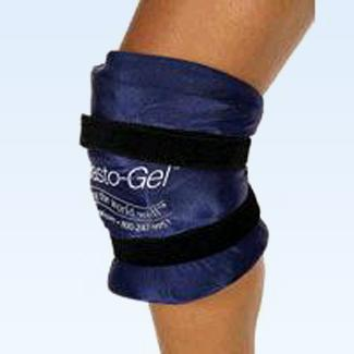 "Elasto Gel Hot/Cold Knee Wrap, flexible, 15-20"" Knee Circumferen"