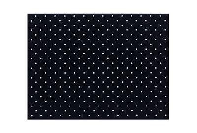 Orfilight Black NS, 18 inches x 24 inches x 1/8 inch, mini perforated 3.5 percent