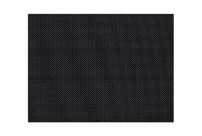 Orfit Colors NS, 18 inches x 24 inches x 1/12 inch, micro perforated 13 percent, dominant black