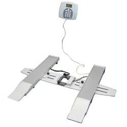 Portable digital wheelchair scale - lb/kg